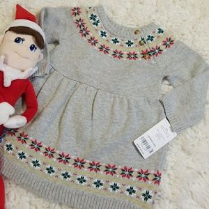 Carter's Holiday Dress NWT Size 6 Months